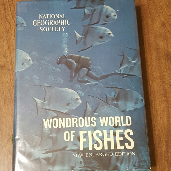 *SOLD* WONDROUS WORLD OF FISHES 1969 NEW ENLARGED